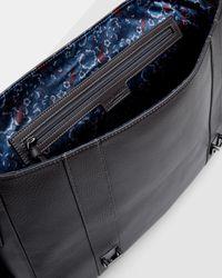 Ted Baker - Multicolor Leather Buckle Satchel for Men - Lyst