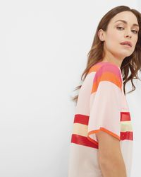 Ted Baker | Multicolor Pier Stripe Cover Up | Lyst
