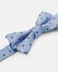 Ted Baker - Blue Textured Bow Tie for Men - Lyst