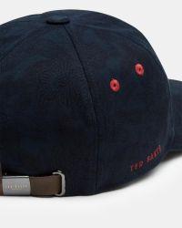 Ted Baker - Blue Baseball Cap for Men - Lyst