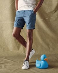 Ted Baker | Blue Cotton Chino Shorts for Men | Lyst
