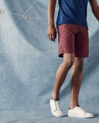 Ted Baker   Red Cotton Chino Shorts for Men   Lyst