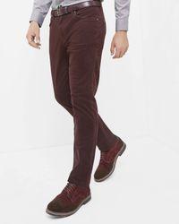 Ted Baker | Blue Mini Design Trousers for Men | Lyst