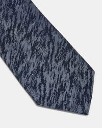 Ted Baker - Multicolor Textured Silk Tie for Men - Lyst