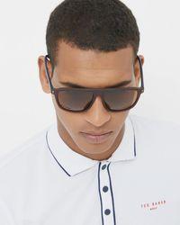 Ted Baker - Red Square Sunglasses for Men - Lyst