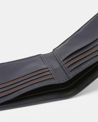 Ted Baker - Black Contrast Stitch Wallet for Men - Lyst