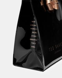 Ted Baker - Black Bow Detail Small Icon Bag - Lyst