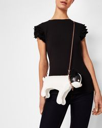 Ted Baker - White Dog Cross Body Bag - Lyst