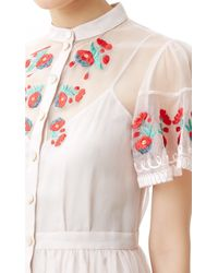 Temperley London - White Elette Dress - Lyst