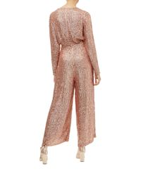 Temperley London - Pink Tiara Jumpsuit - Lyst