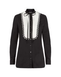 Temperley London | Black Fountain Shirt | Lyst
