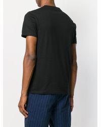 Stella McCartney Black Printed Tshirt for men