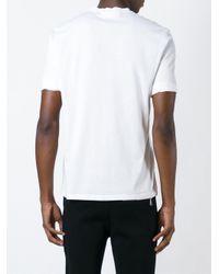 Neil Barrett - White Printed T-shirt for Men - Lyst