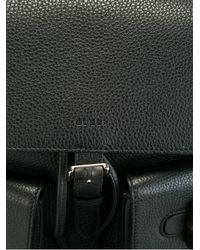 Gucci - Black Bamboo Backpack - Lyst