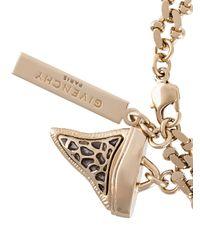 Givenchy | Metallic Gold Shark Tooth Bracelet | Lyst