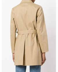 MICHAEL Michael Kors | Brown Two Tone Trench | Lyst