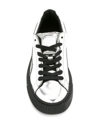 PUMA - Black Platform Sneakers for Men - Lyst