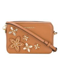 MICHAEL Michael Kors - Brown 'flowers' Pouch - Lyst