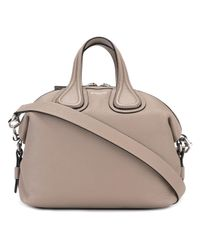 Givenchy | Natural Small Nightingale Leather Tote Bag | Lyst