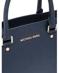 MICHAEL Michael Kors - Blue Selma Bag - Lyst