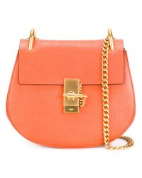 Chloé | Orange Drew Medium Leather Bag | Lyst