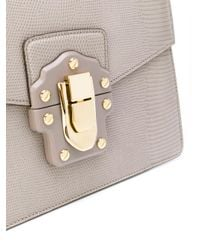 Dolce & Gabbana - Gray Lucia Shoulder Bag - Lyst
