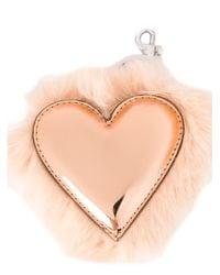 Stella McCartney - Natural Heart Keychain - Lyst