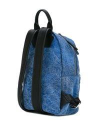 Chiara Ferragni Blue Backpack