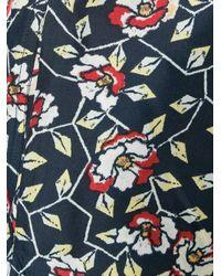 Isabel Marant | Multicolor Roya Silk Trousers | Lyst