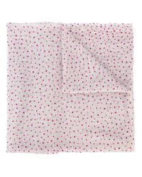 Faliero Sarti - Gray Mini Star Print Scarf - Lyst