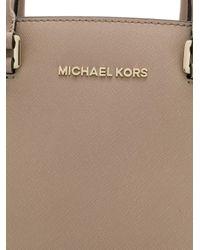 MICHAEL Michael Kors - Brown Selma Leather Shoulder Bag - Lyst