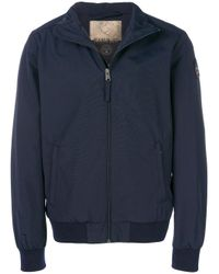 Napapijri - Blue Cotton Jacket for Men - Lyst
