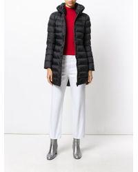 Peuterey - Black Long Puffer Jacket - Lyst