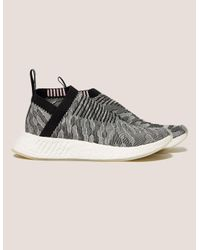 Lyst - adidas Originals Nmd City Sock Women s in White 9dddfcca6