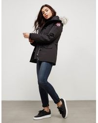 Canada Goose - Black Montebello Parka Jacket - Lyst