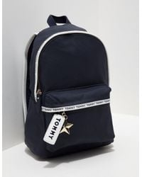 Lyst - Tommy Hilfiger Womens Logo Mini Backpack - Online Exclusive ... bda24e488e