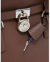 Michael Kors - Womens Large Satchel Bag - Online Exclusive Brown - Lyst