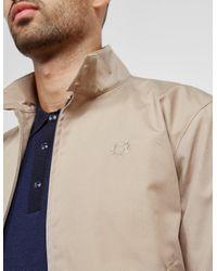 Fred Perry - Natural Mens Reissue Harrington Lightweight Jacket Beige for Men - Lyst