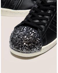 Adidas Originals - Black Superstar 80s Metal Toe - Lyst