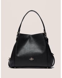 COACH - Black Edie 31 Shoulder Bag - Lyst