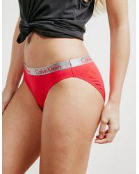 Calvin Klein - Multicolor Womens 3-pack Bikini Multi - Lyst
