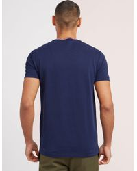 Polo Ralph Lauren - Blue Tipped Short Sleeve T-shirt for Men - Lyst
