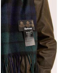 Barbour - Multicolor Tartan Cashmere Scarf for Men - Lyst