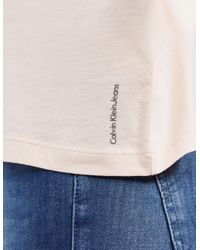 Calvin Klein - Pink Teco Box Short Sleeve T-shirt - Lyst