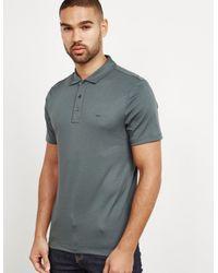 e6e8d44a1 Lyst - Michael Kors Mens Sleek Short Sleeve Polo Shirt Green in ...