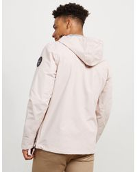 Napapijri - Pink Jacket Blue for Men - Lyst