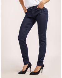 Armani Jeans - Blue J28 Mid Waist Jeans - Lyst