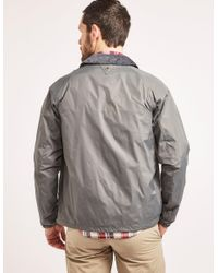 Barbour - Gray Lundy Casual Jacket for Men - Lyst