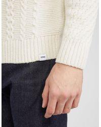Edwin - Mens United Knit White for Men - Lyst