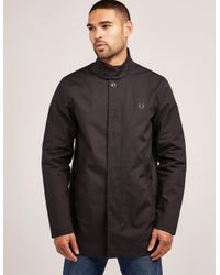 53d9e522150f Lyst - Fred Perry Mens Mac Lightweight Jacket Black in Black for Men